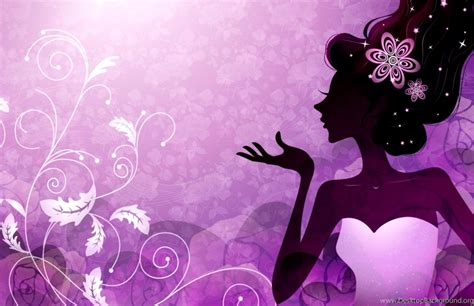 Girly Desktop Backgrounds by Girly Purple Wallpapers Phone Desktop Background