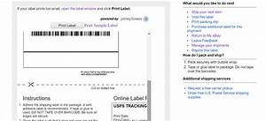 34 How To Print Ebay Shipping Label Without Instructions