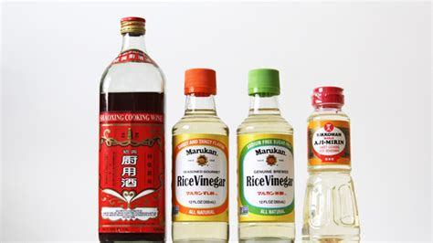 substitute for rice wine rice wine rice wine vinegar rice vinegar what s the difference