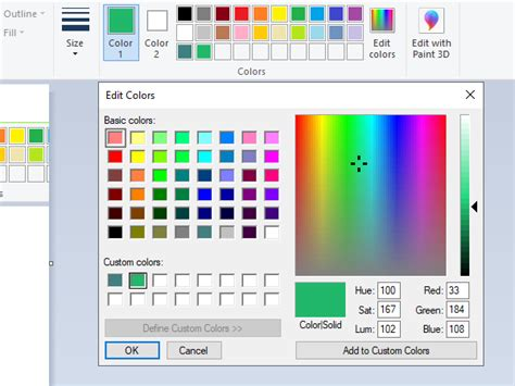 ms paint color change how to add text and change color of font in ms paint in windows 10