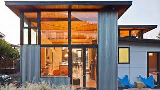 Exterior Options For Metal Buildings by Cool Houses Covered In Steel Metal Homes YouTube