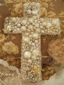 French Pearl Cross