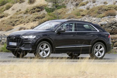 2019 Audi Q8 Spied Fully Exposed » Autoguidecom News