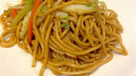 difference between chow mein and lo mein chow mein vs lo mein
