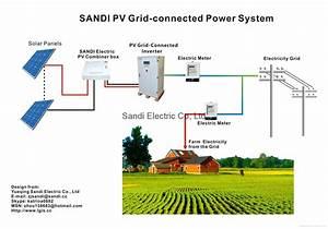 Pv Grid Tie Inverter 15kw Solar Power System