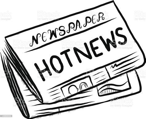 Newspaper Cartoon Stock Illustration Download Image Now