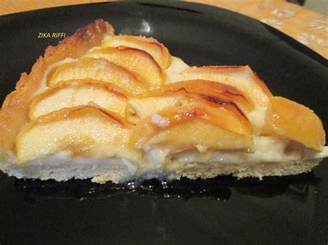 dessert avec pate brisee tarte aux pommes maison cuisine de zika