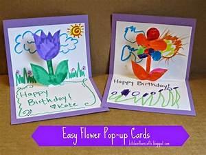Geburtstagskarte Basteln Einfach : geburtstagskarte selber basteln pop up oder aufklappkarte mit anleitung ~ Orissabook.com Haus und Dekorationen
