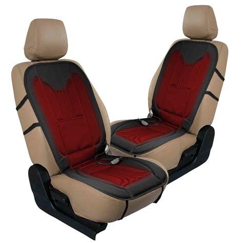 zone tech 2x thickening heated car seat heater heated