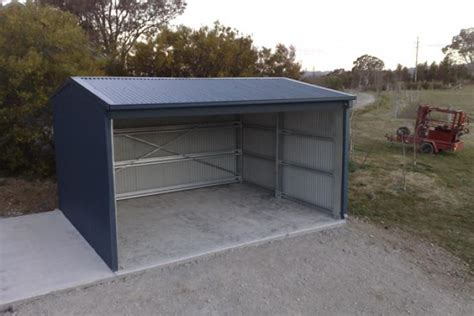 protect your farm assets with a steel implement shed
