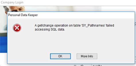 error  logging  microsoft dynamics pdk