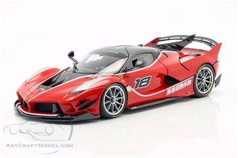 The evolution of the original fxx k produces 75 percent. Ferrari FXX-K Evo #18 corsa red BBR - BBR182285, EAN 8051739720051