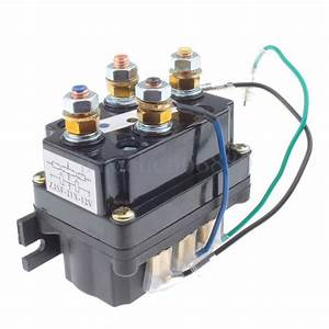 Us Heavy Contactor Winch Relay Solenoid 12v 500a 5000lb To