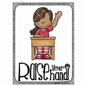 9pcs English Poster Classroom Rules A4 Big Cards
