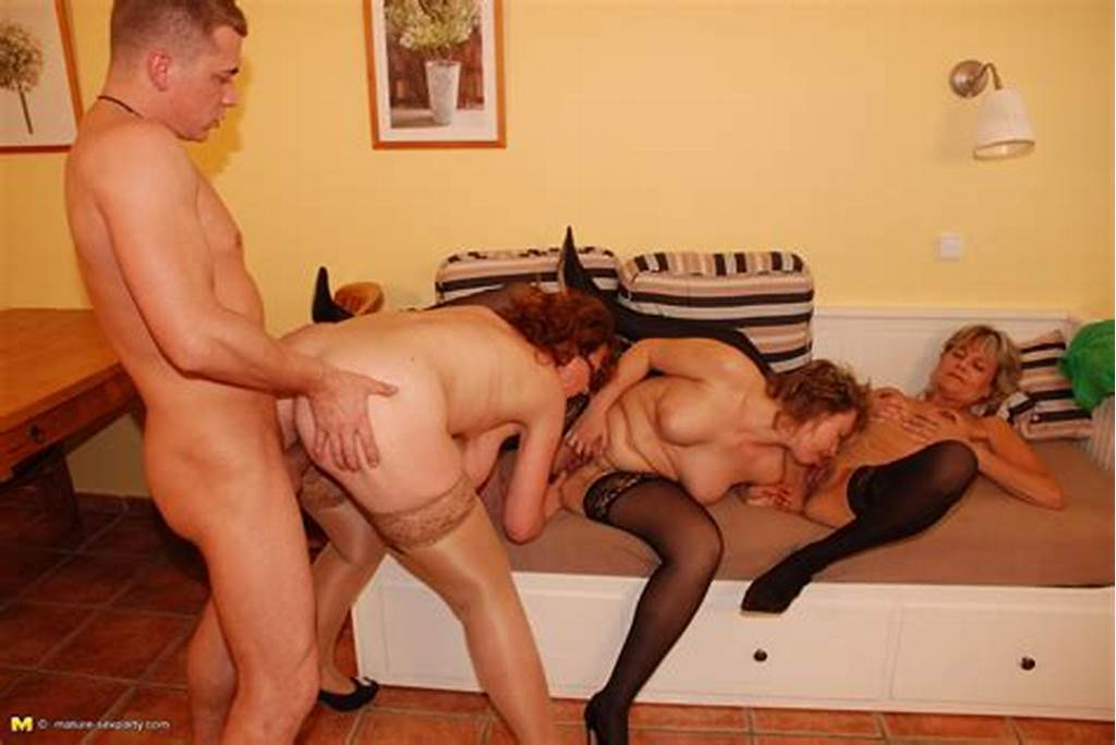 #One #Lucky #Guys #Fucking #Three #Mature #Sluts