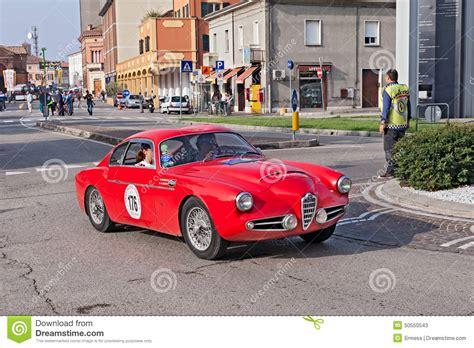 Vintage Alfa Romeo 1900 Ssz Zagato 1957 Editorial Stock