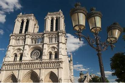 Dame Notre Paris Cathedral Towers France Gothic