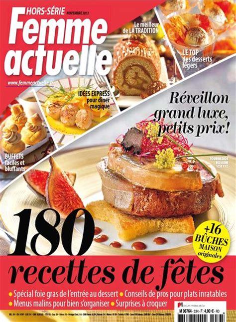 femme actuelle hors serie cuisine n 33 novembre 2013 pdf magazine