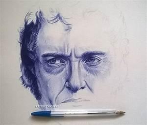 ballpoint pen drawing wip by cLoELaLi11 on DeviantArt