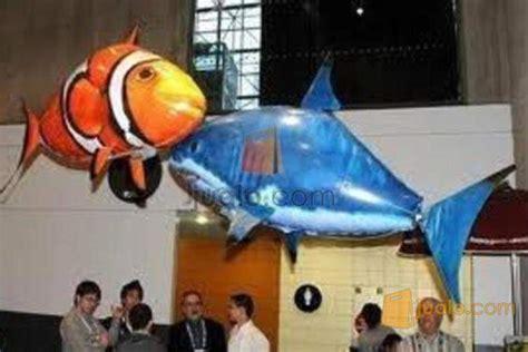 mainan air swimmer rc ikan terbang nemo dan hiu air