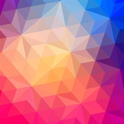 Triangles Pattern Of Geometric Shapes Wall Mural Wallpaper