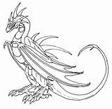Wyvern Worm Scatha Deviantart Potter Harry Hp Lexicon sketch template