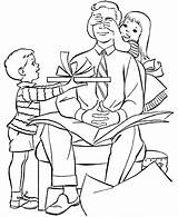 Coloring Parents Pages Obeying Colouring sketch template