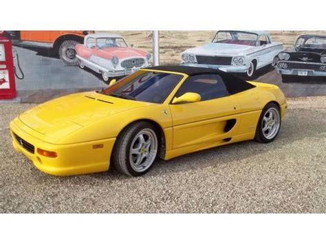 1997 ferrari f355 spider in august: 1997 Ferrari 355 F355 - Cars - Elgin - Arizona - announcement-36217