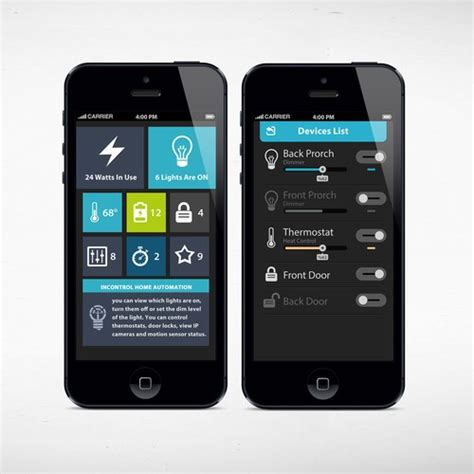 home automation app design  expert