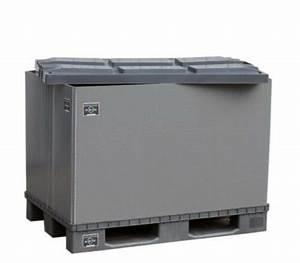 Auto Für Umzug Mieten : neu eurobox palettenbox mit deckel faltbarer lagerbox ~ Watch28wear.com Haus und Dekorationen