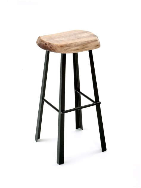 The site was set up to offer a variety of styles of kitchen and breakfast bar stools. Modern Bar Stool with Live Edge Slab