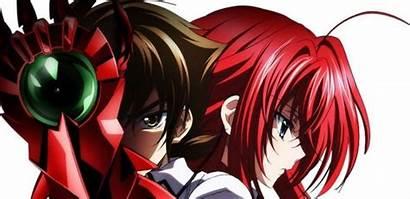 Dxd Rias Issei Season Anime Highschool Gremory
