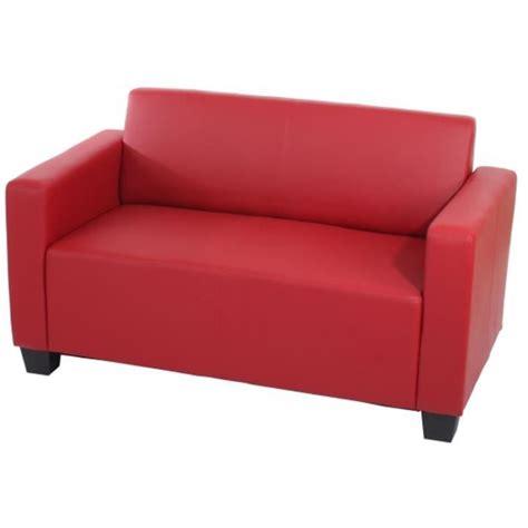 canapé de 2 places lyon en simili cuir d achat