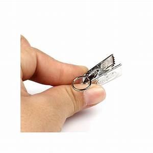 Attache Rideau Pince : lot de 30 crochets rideau pince crabe attache rideau anneau tringle les accessoires volants ~ Melissatoandfro.com Idées de Décoration
