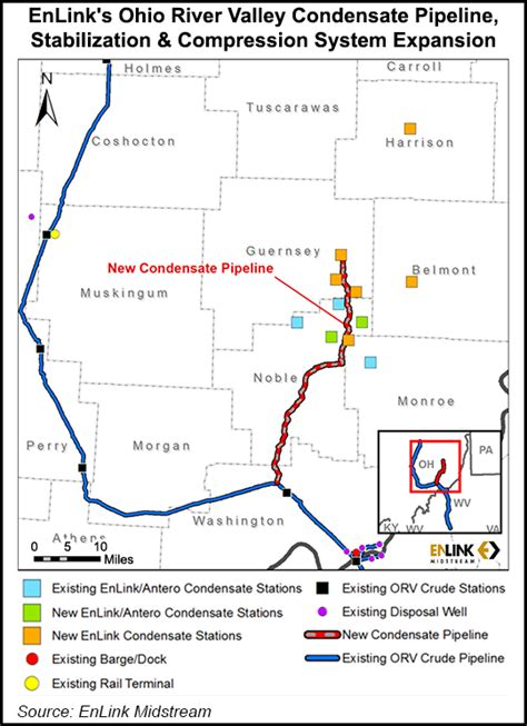 EnLink Expanding Utica Position with Condensate Pipe, Six ...