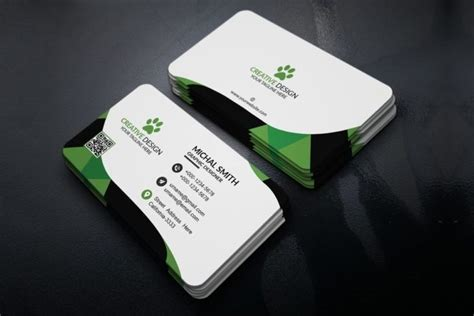 modern business card templates psd ai eps