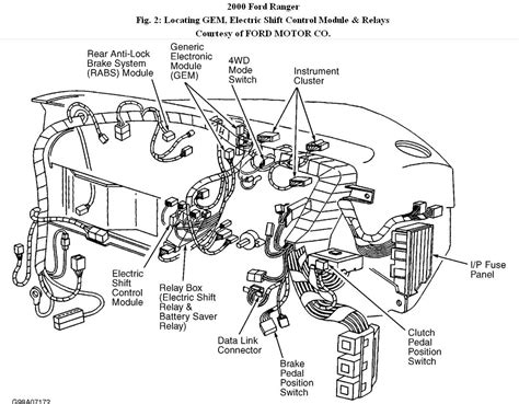 4 Wheel Wiring Diagram 1993 Ford Explorer by Ranger 4x4 2000 Ranger 4x4 4x4 Will Not Engage Green