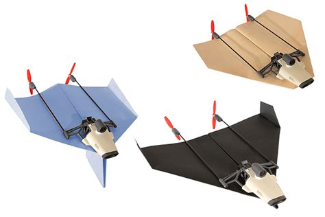 paper airplane drone aces kickstarter goal dronelife