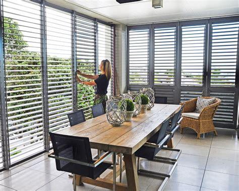 aluminium kiss pivot louvres shutters vanguard blinds