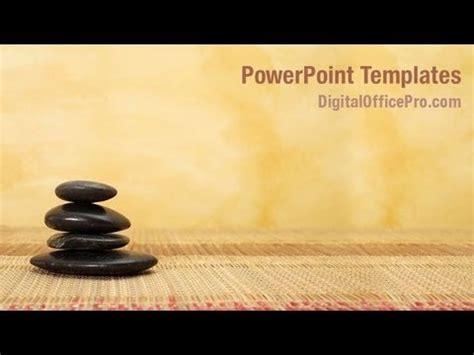 massage therapy powerpoint template backgrounds