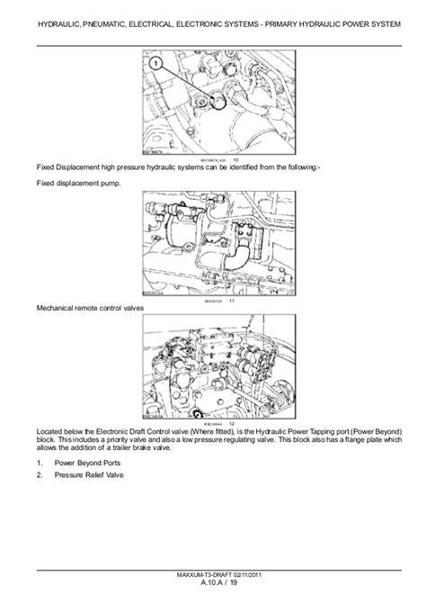 CASE IH MAXXUM 125 TRACTOR Service Repair Manual