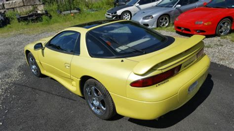 mitsubishi 3000gt yellow 3000gt vr4 twin turbo awd pearl yellow great condition