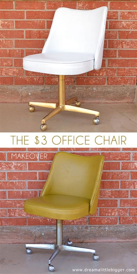 the 3 office chair makeover a bigger