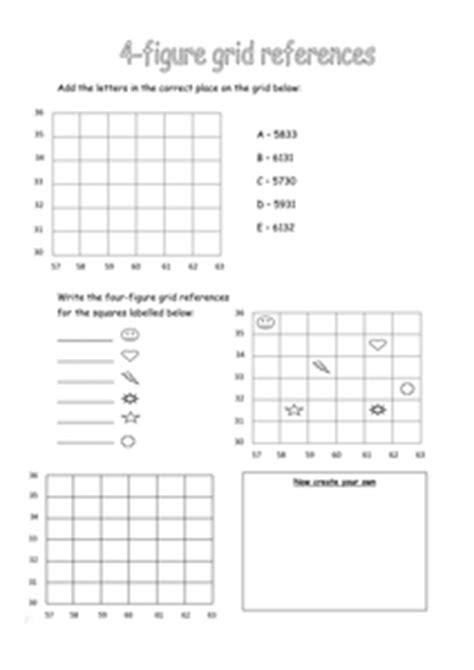 4 figure grid references by 88collinsl uk teaching