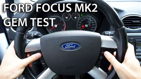 gem test  ford focus mk  fixpl
