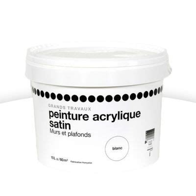 peinture acrylique blanche peinture blanche 1er prix resine de protection pour peinture