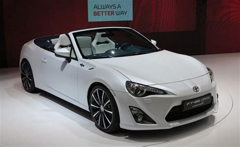 Toyota Scion Convertible by Scion Fr S Convertible Turbo Officially Dead 187 Autoguide