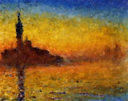 Monet Claude Impressionism Giphy Gifs Paintings Impressionist