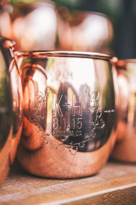 Custom Moscow Mule Mug Favor Favors For Parties And Events