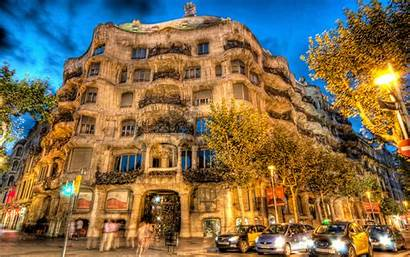 Barcelona Spain Architecture Building 4k Wallpapers Background